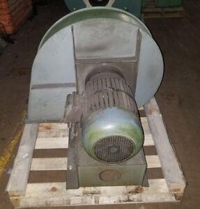 Industrial Blower / Fan / Ventilation 15 hp 480v