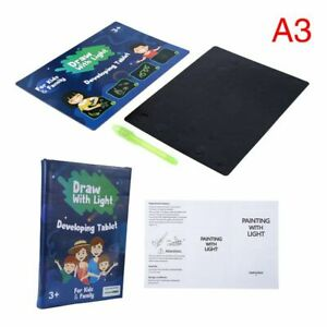 1 Set LED Children's Drawing Board Writing Display Drawing Board Painting Toy
