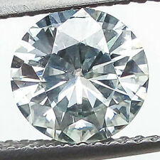 1.37 CTS 7MM VVS2 ROUND UNTREAT F COLOR WHITE LAB CERTIFIED LOOSE DIAMOND