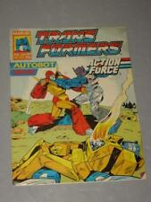 Transformers Autobot War! Comic Book No. 201-35P Marvel Lot # 1