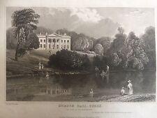 1833 Print; Debden Hall, near Saffron Walden, Essex