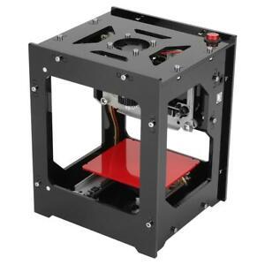 1500mW CNC Wood Router Laser Engraver Printer Cutter Cutting Machine New