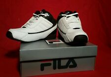 MEN'S ATHLETIC SHOE - Fila - Change the Game youth  Sizes 4 White/Black/Chred