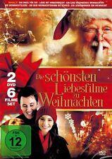 DOPPEL-DVD NEU/OVP - Die schönsten Liebesfilme zu Weihnachten - 6 Filme Set