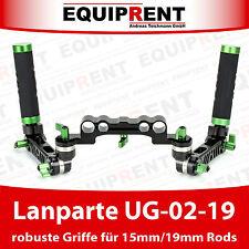 Lanparte UG-02-19 robuste Rig Griffe mit Verzahnung für 15mm / 19mm Rods (EQC36)