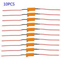 10 Pezzi 50W 6Ω Led Resistenza di Carico Freccia Flash Azione Relè Lampadine