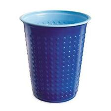 Disposable Pack of 40 Bi-Colour Blue Plastic Party Drinking Cup