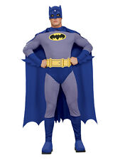 "Batman Disfraz De Batman Brave Bold Clásico De Hombre, M, Cintura Pecho 38-40"", 30-34"",LEG 33"""