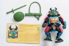 Vintage TMNT Ninja Turtles - 1990  Sewer Samurai Leonardo - Playmates