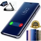 Smart View Mirror Leather Flip Stand Case Cover For Huawei P20 Pro Lite Plus P10