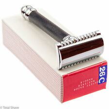 Parker 26C Open Comb Double Edge Safety Razor With Free Derby Blades