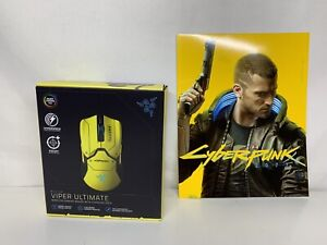 Razer Viper Ultimate Cyberpunk 2077 Wireless Gaming Mouse With Dock - RGB CHROMA
