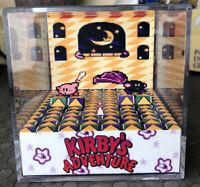 Kirby's Adventure 3D Cube Handmade Diorama - Shadowbox - Nintendo NES - Fanart