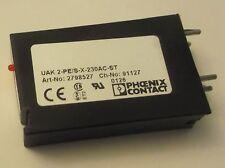 2798527 - PHOENIX - QTY 1 - UAK2-PE/S-X-230AC-ST  Made in Germany