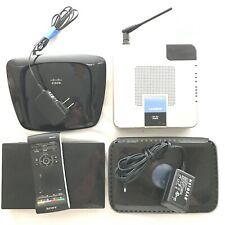 Electronics Lot, 3 x Routers and Sony Media Player w original remote NSZ-GS7