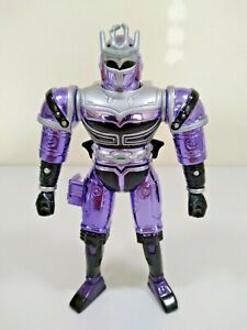 Platinum Purple Blast'n BeetleBorg Metallix Action Feature Figure Bandai 1997