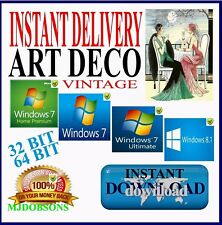 VINTAGE & DECO SCRAPBOOKING  CLIPART IMAGES printable IMMEDIATE DELIVERY