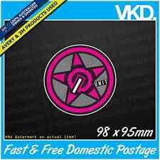 Unit Sticker/ Decal - MOTOCROSS Bike Gear AUS KTM LKI MX UTE Vinyl 4x4 DRIFT JDM