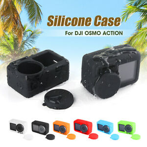 Frame Silicone Protective Case Shell Cover Bump-proof For DJI OSMO Action  Q