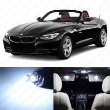 9 x Error Free White LED Interior Light Package For 2009 - 2013 BMW Z4 E89