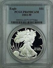 2002-W Proof American Silver Eagle ASE 1oz Coin PCGS PR-69 Deep Cameo DCAM