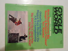 JAN. 1972 CYCLE WORLD MAGAZINE(BSA,BULTACO,ISDT TRIALS,AMA,ONTARIO,SUZUKI ,HONDA
