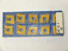 10 new VALENITE Walter CNGP 431-A VN8 Carbide Inserts
