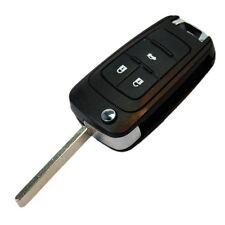 HQRP Carcasa llave de 3 botones compatible con Chevrolet Cruze Mando remoto