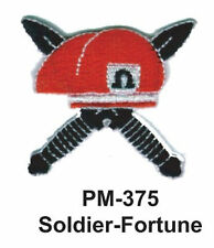 "3"" SOLDIER-FORTUNE Embroidered Military Patch"
