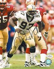 La'Roi Glover Signed JSA COA 8X10 Photo Auto Autographed NO Saints Cowboys Great