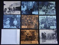 7 COLTS DU TONNERRE set 8 lobby card photo film 1966 WESTERN Sean FLYNN