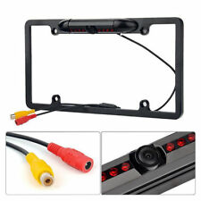 170° Wide HD Rear View Backup Camera License Plate Frame For US Car Night Vision