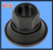 16  Wheel Lug Nuts W. Washer BLACK Replace Ford OEM # 611127