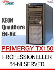 ! rápido! Intel Xeon de cuatro núcleos 64-bit cuatro núcleos servidor FSC PRIMERGY tx150 SATA RAID
