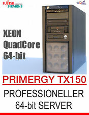 Rapido! Intel Xeon Quad Core 64-bit Quad Core server FSC Primergy tx150 SATA RAID