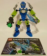 100% Complete & Retired Lego Hero Factory Surge (6217) with Instruction Manual