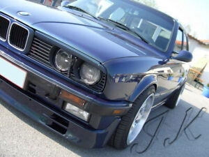 Fits BMW E30 - Eye Brows Head Light Cover