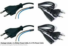 Philips Cable for adapter, Camera, Printer, Playstation + 2 pin Power Cable