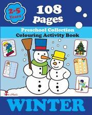 Winter : Preschool Collection. Colouring Activity Book: By Fonteyn, Alex Warz...