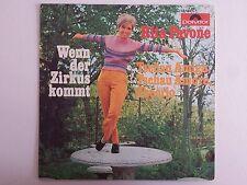 """Vinyl-7""""-Cover # only Cover # Rita Pavone # Wenn der Zirkus kommt # 1969 # vg+"""
