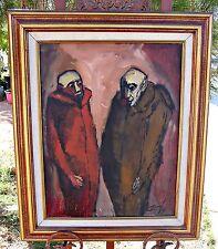 Listed Artist  Jose Echave, Mexico,  Original Oil, Framed