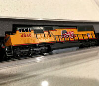 "Union Pacific ""Building America"" Locomotive (N Scale) EMD SD7OM - Brand New"
