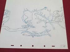 Fantasia Chernabog Devil Creatures Disney production Drawing 1940