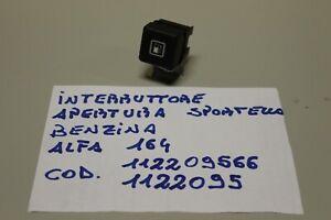 ALFA 164 INTERRUTTORE PULSANTE SPORTELLO BENZINA COD. 112209566-1122095