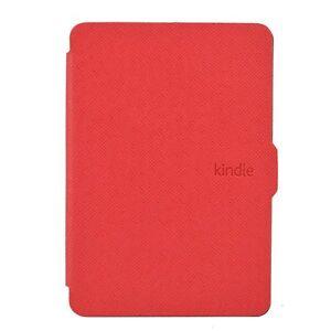 Luxury Leather Flip Magnetic Smart Wake Case For Amazon Kindle Paperwhite 1 2 3