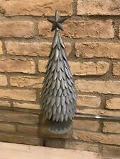 Pottery Barn Galvanized Tree Size X-large Goes With Galvanized House Christmas