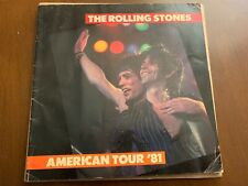 Rolling Stones American Tour 81 Photo Booklet