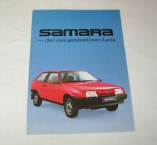 Prospekt / Broschüre Lada Samara - VAZ 2108 / 2109 !