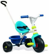 Dreirad Kinderfahrzeug Smoby 740323 Spielzeug Schubstange Pedale blau B-WARE