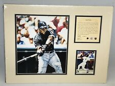 1995 Frank Thomas Chicago White Sox Matted Kelly Russell Lithograph Print #1373